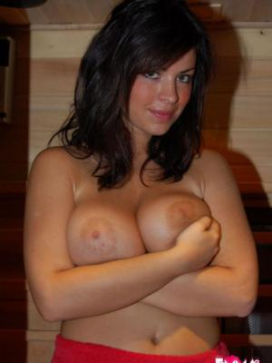 Emma ONeil Cute Brunette Emma Has Some Big Melons