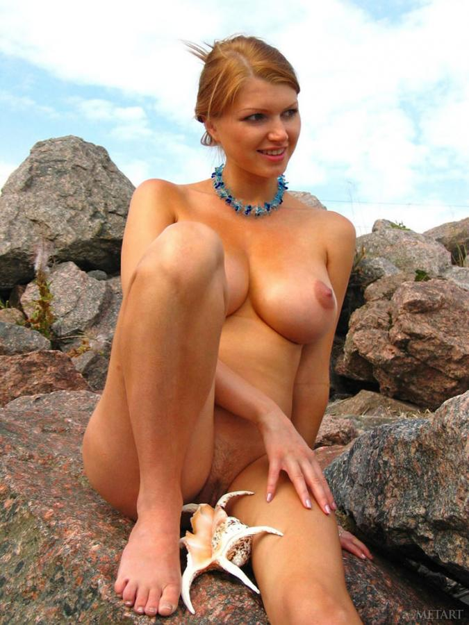 Maria D Naked Big Titted Maria  On The Beach Images 284780