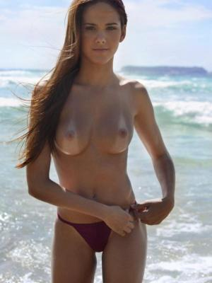 Roberta This beach is perfect place for nude walk