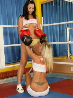 The hottest catfight erotica with two barely legal